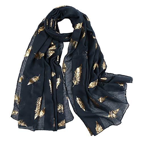 KAVINGKALY Wrap de soirée léger ou écharpe écharpe en plumes scintillantes châles en...