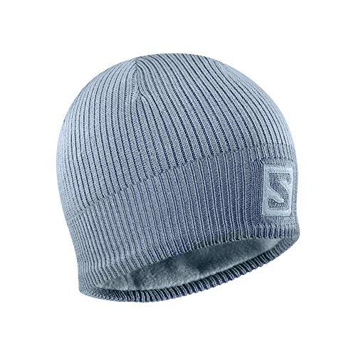 Bonnet de ski nordique et de randonnée Salomon, unisexe, LOGO BEANIE, bleu (bleu Ashley), taille unique, LC1420900