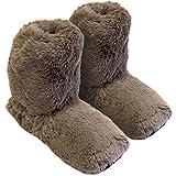 Original Thermo Sox - chaussons chauffants, en hauteur d'une chaussette, Supersoft, taille M/36-40 chocolat