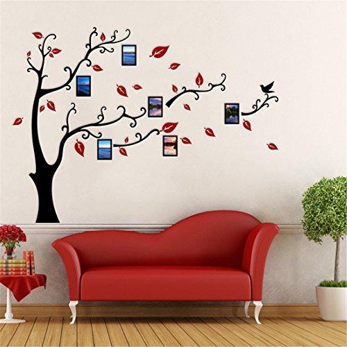 Arbre Sticker Muraux 3D Autocollants DIY Famille Cadre de Photo...