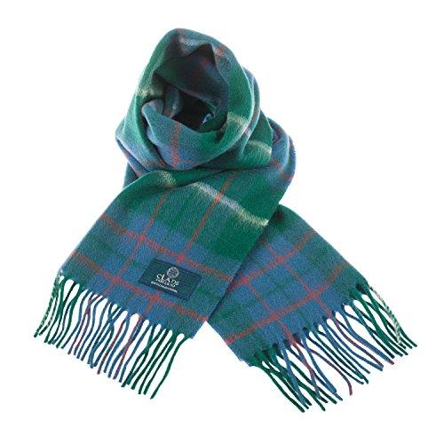 Écharpe écossaise en laine pure Clans Of Scotland - Multicolore - Taille unique