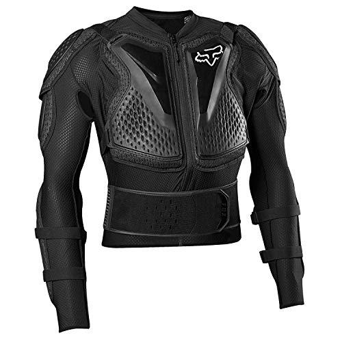 Fox Titan Sport Jacket Guards Mixte, Noir (Black), S
