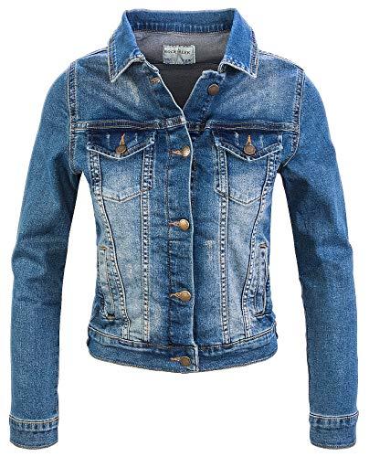 Rock Creek Femmes Jeans Veste Transition Veste Denim Blouson Stretch Court Veste en Denim...