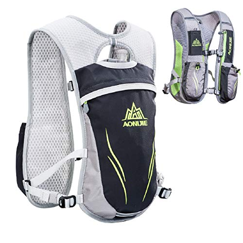 TRIWONDER Sac Trail Running 5,5L Gilet d'hydratation Sac à Dos de Course Pack Léger pour...