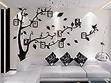 Alicemall : Stickers autocollants muraux amovibles 3D arbre avec des Branches