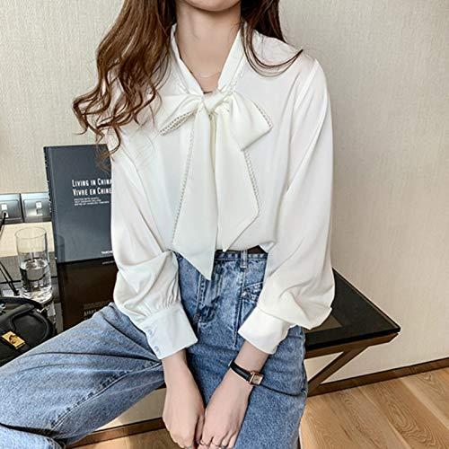 CWENROU Chemises Décontractées pour Femmes - Mode Lâche Chemisier Coréen Printemps Et Été...