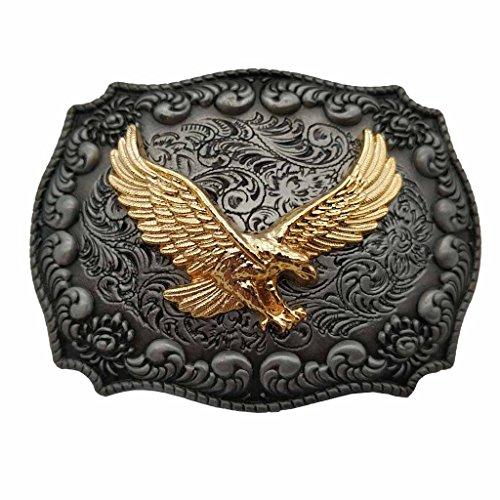 YONE Golden Eagle Western Belt Buckle Boucle de ceinture