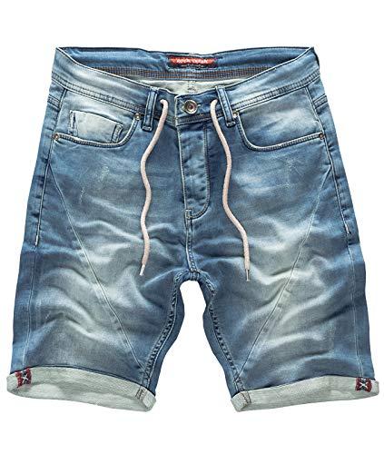 Rock Creek Mens Jogg Shorts Short en Jean Short en Jean Short Shorts pour Hommes Bermudas...