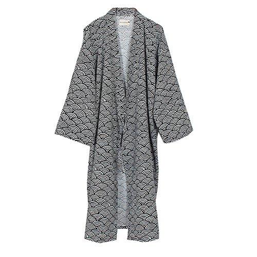 Fancy Pumpkin Yukata Robes Kimono Robe Pyjamas - Navy192m - Taille M