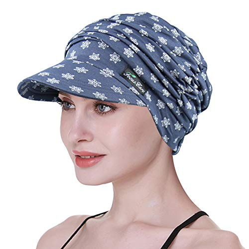 FocusCare Chapeaux de Soleil pour Femmes Chemo Chapeaux d'été pour Les Patients cancéreux...