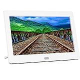 MELCAM  : Cadre photo numérique blanc FHD IPS Écran 1280 * 800