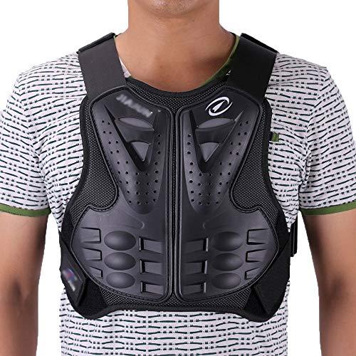 sjapex Armure Moto Gilet Protection Équipement Protection Colonne Vertébrale Armure Dorsale,...