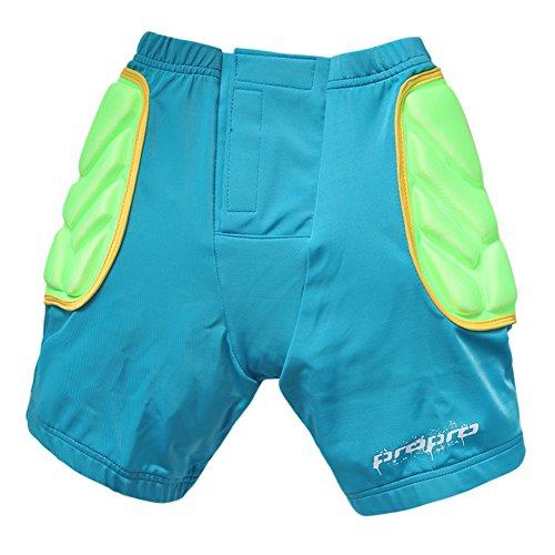 CHIC-Sport Rembourré Short de Protection Ski Patinage Snowboard Hip Pad Enfant Pantalon Court...