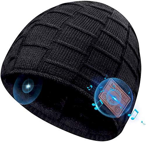 COTOP Bonnet Bluetooth 5.0 Homme Idee Cadeau Noel,Unisexe Ski Music Bonnet Bluetooth...