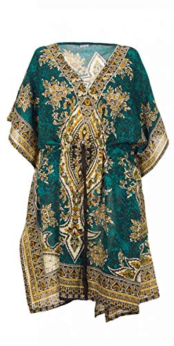 Kaftan Court Oriental Style Tunique Boubou Africaine Robe Cours ete Kaftan djellaba Femme...