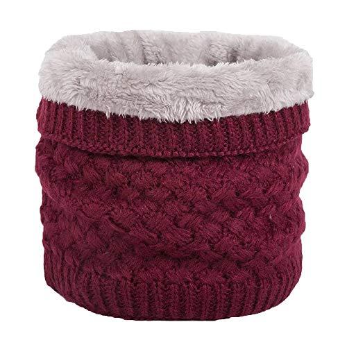 Cache-cou Col De Crochet De Laine Pour Hiver Thermique Avec Agneau Polaire à l'intérieur...