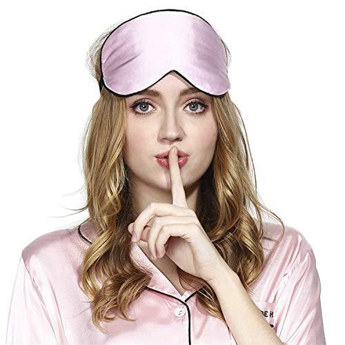 Masque de Sommeil, Masque de Nuit Soie, 100% Soie Naturelle Occultant Ultra-Douce Masque de...