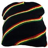 Bonnet peruvien Rasta Jamaique Reggae Afrique Drapeau