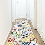 Viniliko : Tapis vinyle multicolore, 66 x 250 x 3 cm