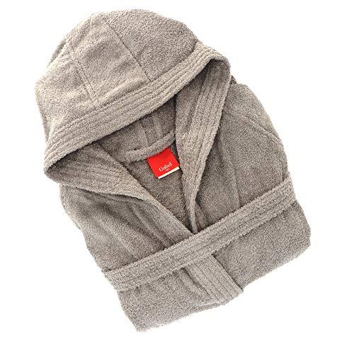 Gabel 09900 905 Peignoir pour Adulte, 100% Coton, Fer, Taille XXXL