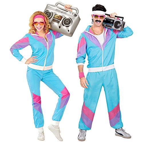 Widmann Survêtement Costume Adulte Années 80 XXL