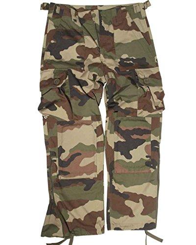 Pantalon léger Commando style armée CCE. - Vert/marron militaire - S