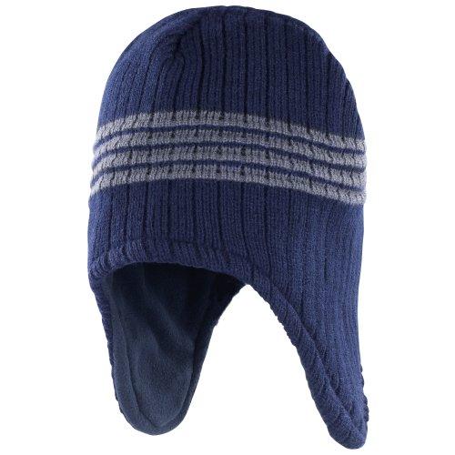 Result - Bonnet péruvien - Homme (Taille Unique) (Bleu Marine) prix et achat