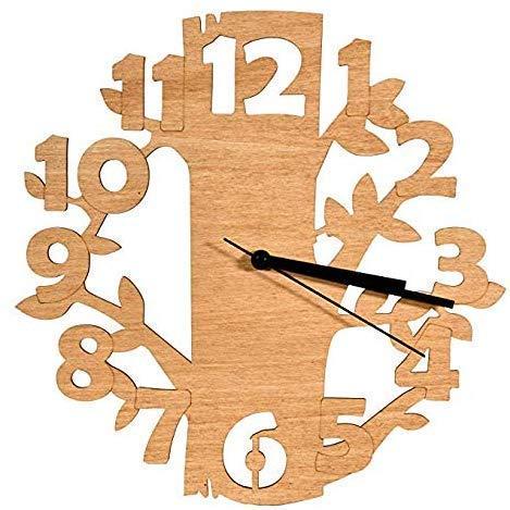 Laserò Horloge Murale en Bois – Design Ultra Moderne et...