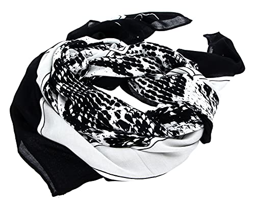 Calvin Klein Woven Scarf Python Print prix et achat