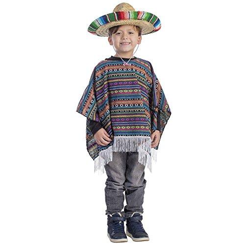 Dress Up America Costume Poncho mexicain pour enfant prix et achat