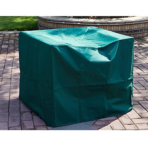 MAHFEI-Housse Protection Salon De Jardin, Imperméables Protecteurs De Couverture De Table De Patio Rectangulaire pour Table Et Chaise, Canapé en Rotin Anti-Pluie, Anti-UV