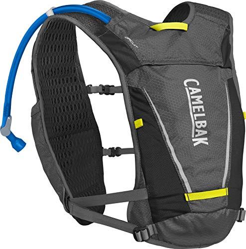 CamelBak Circuit Vest Sac à Dos Homme, Graphite/Sulphur Spring, FR Unique (Taille Fabricant :...