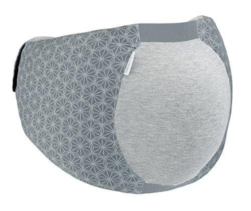 Babymoov - A062000 - Ceinture ergonomique pour le confort du sommeil de la femme enceinte, élastique, s'adapte à tous les stades de la grossesse - Gris - Taille universelle