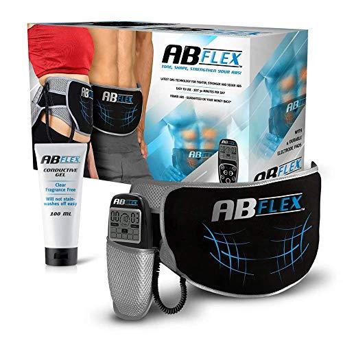 ABFLEX AB Toning Belt pour Les Muscles de l'estomac Mince et Tonique - Aucun Coussin de...