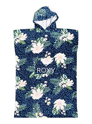 Roxy Stay Magical - Poncho de Surf - Fille - One Size - Bleu