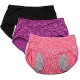 Culotte menstruelle jacquard pour femme