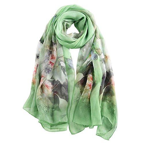 Story of shanghai foulard femme mousseline de soie écharpe châle léger...