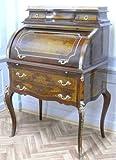 LouisXV secrétaire Antique Style Baroque Bureau Plat MoSc0227