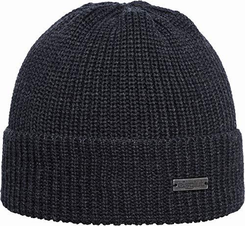 Eisglut Klaas Bonnet Gris Anthracite Taille Unique