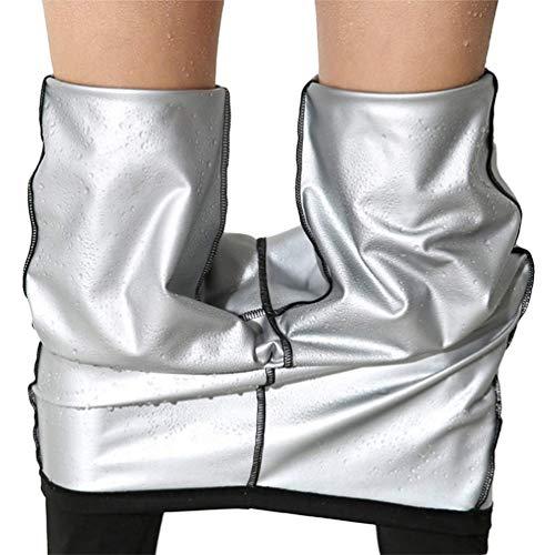 Matehom Pantalon de Sudation,Pantalon de Yoga,Legging Anti Cellulite Fort Compression...