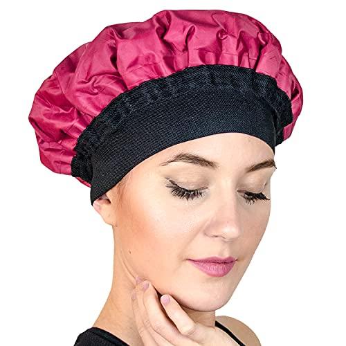 Magic Gel - Bonnet Chauffant pour Soins des Cheveux. Casque Chauffant au Micro Onde pour Cheveux Abimés, Secs. Traitement Capillaire Naturel prix et achat