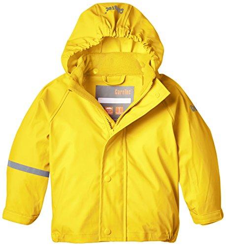 CareTec Veste Imperméable Enfants (différentes couleurs) Jaune (Yellow 324) 86 cm