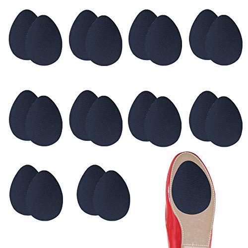 10 Paires Semelles antidérapantes Autocollant Chaussure à Talon Coussinets Chaussure Grips...
