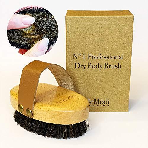 BeModi 1 Brosse de massage en cuivre, anti-cellulite, brosse pour le corps, massage des jambes...