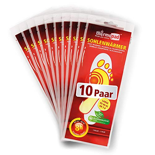 Thermopad 78040 Lot de 10 paires de semelles chauffantes l