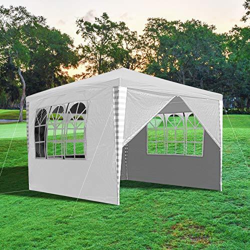 wolketon Tonnelle de Jardin 3x3m Tente Réception Pavillon...
