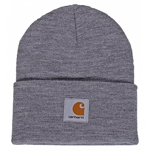 CARHARTT WIP Montre chapeau acrylique gris chiné prix et achat