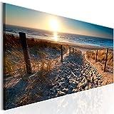 Photographie graphique plage descente sur mer et paysage