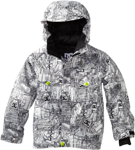 DC Servo Veste de Snowboard pour garçon S Blanc/Impression DC. prix et achat
